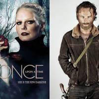 """Em """"Once Upon a Time"""" e """"The Walking Dead"""", qual série tem o retorno mais aguardado?"""