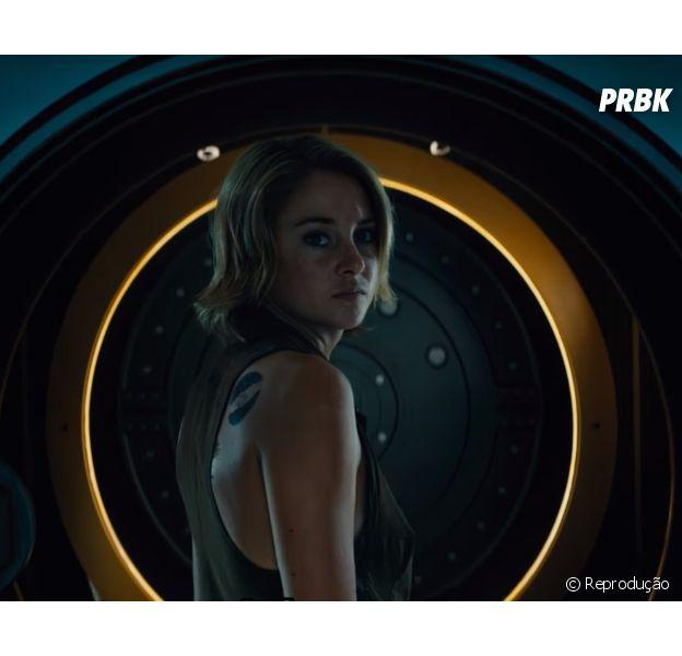 """Tris (Shailene Woodley) tenta salvar o mundo em novo trailer de """"A Série Divergente: Convergente"""""""