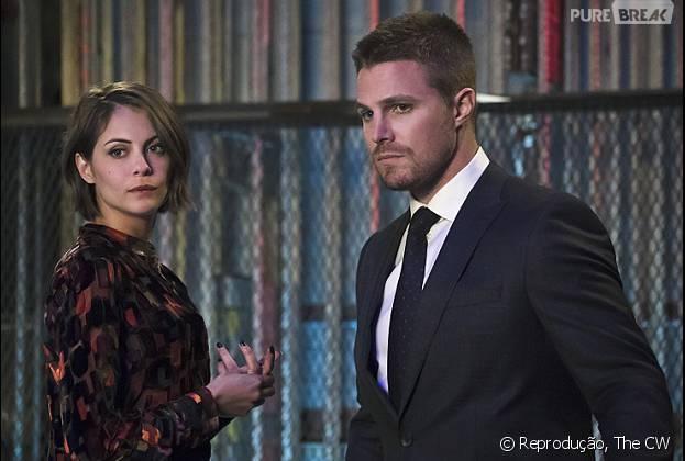 """Em """"Arrow"""", na 4ª Temporada, Thea descobre a verdade sobre o filho de Oliver"""
