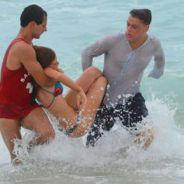 """Novela """"Totalmente Demais"""": Eliza (Marina Ruy Barbosa) se afoga e desmaia após armação de Carolina"""
