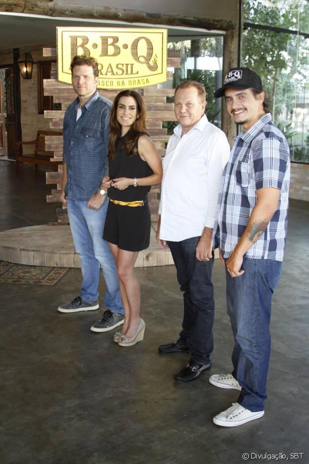 "No ""BBBQ Brasil - Churrasco na Brasa"", Jair Coser, famoso empresário, participa como jurado do programa!"
