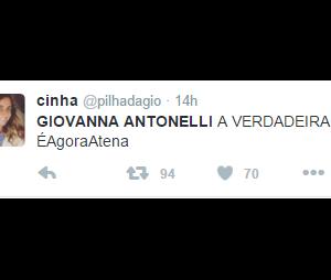 """Giovanna Antonelli, a Atena de """"A Regra do Jogo"""" é elogiada por internautas"""