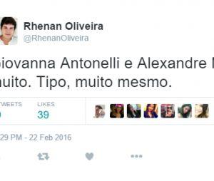 """De """"A Regra do Jogo"""", Giovanna Antonelli e Alexandre Nero são elogiados por fãs nas redes sociais"""