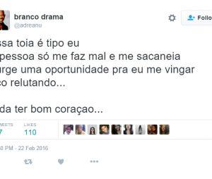"""De """"A Regra do Jogo"""": vida de Tóia (Vanessa Giácomo) é comparada com a de internauta e vira meme"""