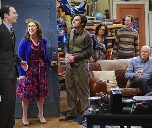 """Em """"The Big Bang Theory"""", Sheldon (Jim Parsons) ganhou festa surpresa no 200º episódio da série"""