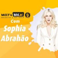 Sophia Abrahão no Meet & Break: saiba como conhecer a cantora e ser nosso repórter por um dia!