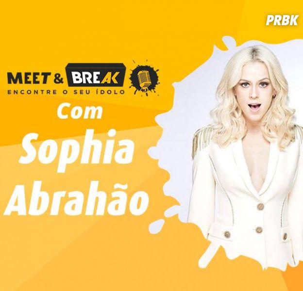 Sophia Abrahão no Meet & Break: Saiba como conhecer a estrela