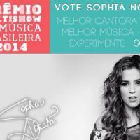 "Para ""Prêmio Multishow 2014"": Sophia Abrahão, P9, Mika e ídolos pedem votos"