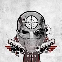 """De """"Esquadrão Suicida"""": novos cartazes transformam os personagens em desenhos para tatuagem. Veja!"""