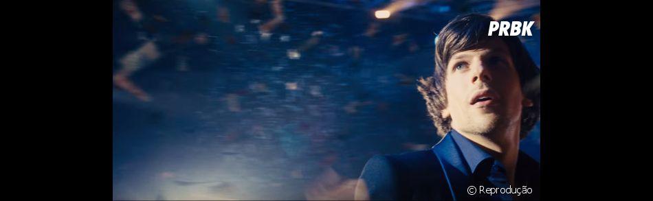 """""""Truque de Mestre 2"""", com Daniel Radcliffe, também conta com Jesse Eisenberg"""