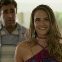 """Novela """"Totalmente Demais"""": Cassandra (Juliana Paiva) fica milionária e tenta comprar a revista!"""