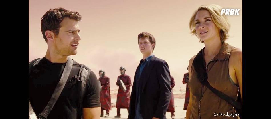 """""""A Saga Divergente: Convergente"""" não estreou bem nos Estados Unidos e ficou em segundo lugar"""