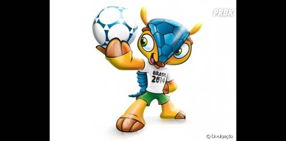Fuleco é o mascote oficial da Copa do Mundo Brasil 2014