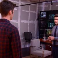 """Em """"The Flash"""" e """"Supergirl"""": Barry (Grant Gustin) e Kara mostram química e deixam James com ciúmes!"""