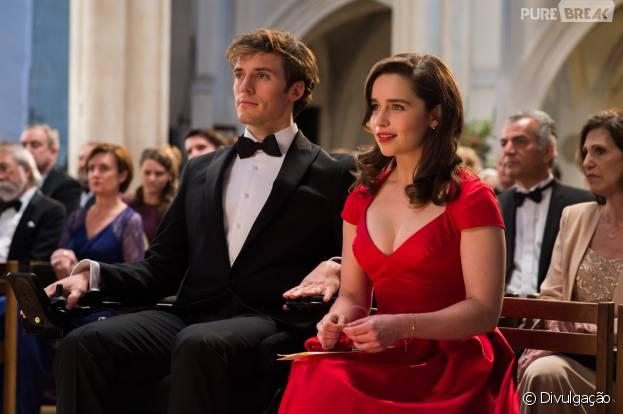 """Sam Claflin (""""Jogos Vorazes"""") e Emilia Clarke (""""Game of Thrones"""") são os protagonistas de """"Como Eu Era Antes de Você"""""""