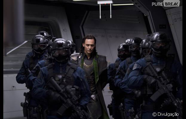 Tom Hiddleston interpreta o vilão Loki nos filmes da Marvel