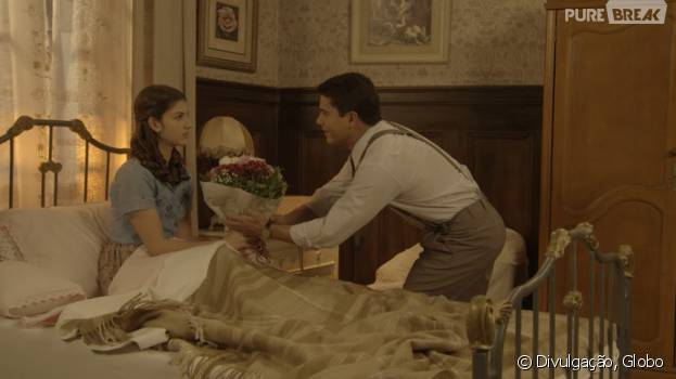 """Em """"Êta Mundo Bom!"""", Osório (Arthur Aguiar) se declara para Gerusa (Giovanna Grigio) e fala sobre cura da doença!"""