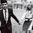 Zayn Malik e Gigi Hadid são fotografados na Itália em ensaio romântico para a revista Vogue