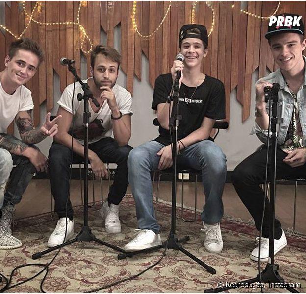 João Guilherme lança cover acústico com a banda Fly e fãs piram