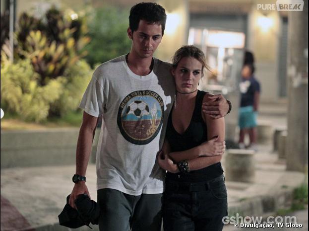 """Em """"Malhação"""", Ben (Gabriel Falcão) salvará Anita (Bianca Salgueiro)!"""