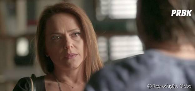 """Novela """"Totalmente Demais"""": Lili (Vivianne Pasmanter) ameaça bater em Rafael (Daniel Rocha) após discussão"""