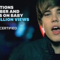 """Justin Bieber chega a 1 bilhão de views com """"Baby""""! Confira quem está quase lá"""