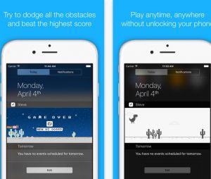 """Steve - The Jumping Dinosaur Widget Game"" está disponível para iOS"