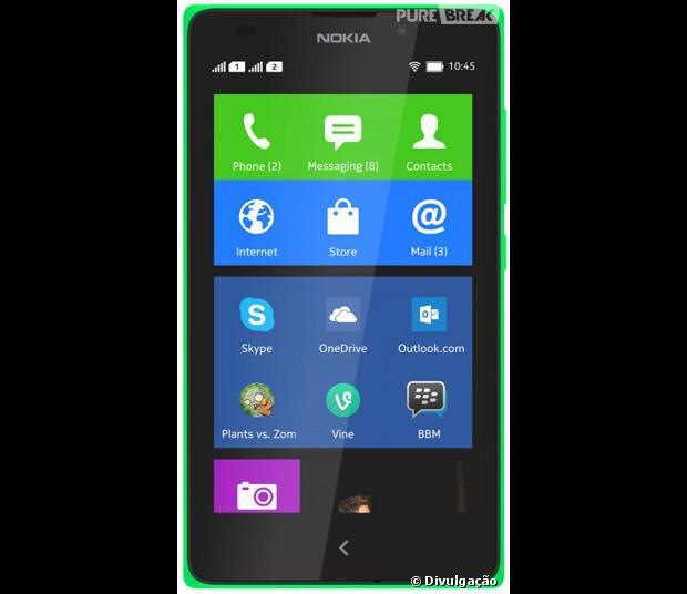 Nokia XL é o novo smartphone de baixo custo que roda Android