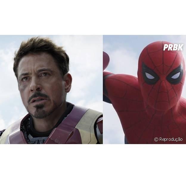 """Homem de Ferro (Robert Downey Jr.) vai aparecer no novo """"Homem-Aranha"""", da Marvel"""