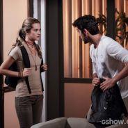 """Em """"Além do Horizonte"""": Lili e Marlon tentam fugir da Comunidade e vêem Kléber!"""