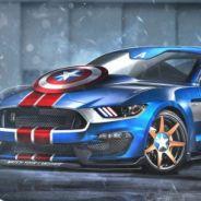 Capitão América, Tony Stark, Batman, Superman e como seriam os carros customizados dos super-heróis!