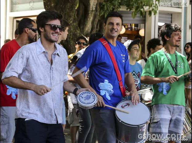 """Em """"Malhação"""", Martin (Hugo Bonemer) vai organizar um bloco no Grajaú!"""