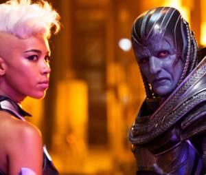 "Tempestade (Alexandra Shipp) e Arcanjo (Ben Hardy) aparecem em novos vídeos divulgados de ""X-Men: Apocalipse"""