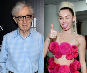 Confirmada em série de Woody Allen, Miley Cyrus ganha elogios do diretor