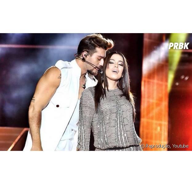"""Anitta e Lucas Lucco na música """"Beijar a Queima Roupa"""""""