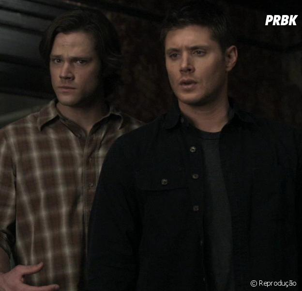 """Em """"Supernatural"""", Sam (Jared Padalecki) e Dean (Jensen Ackles) finalmente descobrem quem é Deus!"""