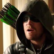 """Em """"Arrow"""": na 4ª temporada, Oliver, Felicity e Curtis se unem para resgatar Thea e parar Darhk!"""