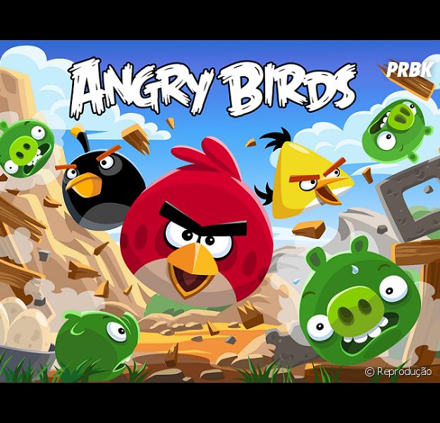 """""""Angry Birds"""" acaba de sair das telas móveis para o cinema. Comemore com a gente!"""