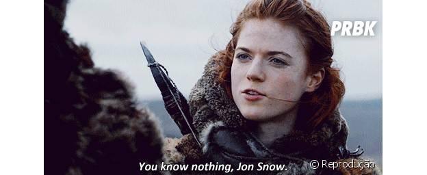 """""""Você não sabe de nada, Jon Snow"""""""
