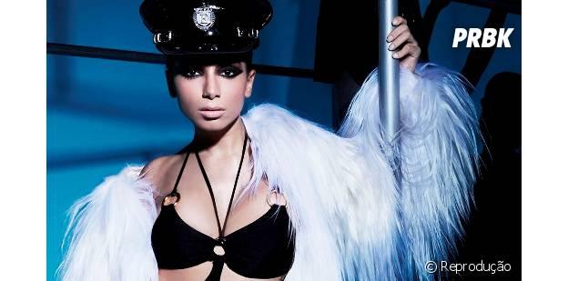Anitta é uma das artistas mais tocadas nas rádios do Brasil