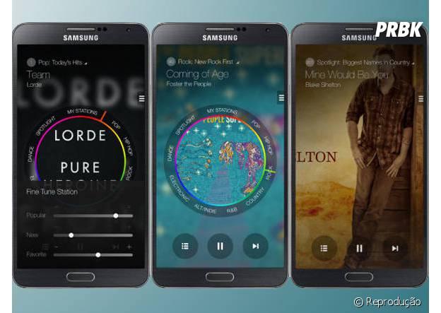 Samsung lança aplicativo de streaming música batizado de Milk