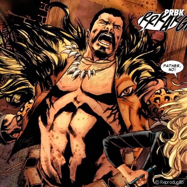 Kraven é um vilão da Marvel que poderia ser usado no cinema!