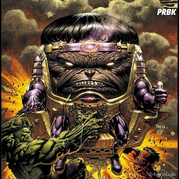 M.O.D.O.K. é um vilão da Marvel que poderia ser usado no cinema!