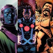 Marvel no cinema: Kang, Graviton, Kraven e mais vilões que poderiam aparecer nos filmes do estúdio!