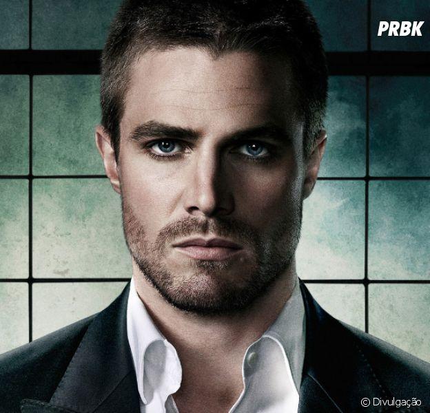 """Em """"Arrow"""": Stephen Amell, o Oliver, fala sobre possível vilão da 5ª temporada"""