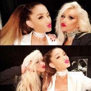 """Ariana Grande e Christina Aguilera no """"The Voice US"""": dupla se apresenta na final do programa!"""