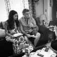 """Novela """"Malhação"""": Marina Moschen elogia Eduardo Galvão e Inez Viana, seus pais na ficção"""