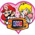 """Mario e Peach, de """"Super Mario Bros."""" e outros jogos da Nintendo são o casal mais famoso dos videogames!"""
