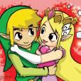 Zelda e Link são mais um casal da Nintendo em que a princesa vive se metendo em encrenca, mas estão juntos há gerações