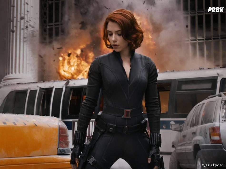Viúva Negra é interpretada por Scarlett Johansson em diversos filmes da Marvel